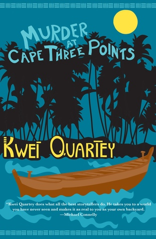 Cover of the book, Murder at Cape Three Points byKwei Quartey