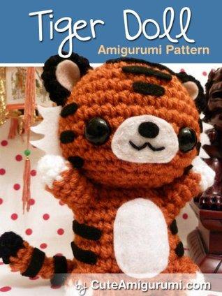 Thomas the Tiger Free Amigurumi Pattern | Jess Huff | 424x318