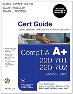 CompTIA A+ 220-701 and 220-702 Cert Guide (2nd Edition)