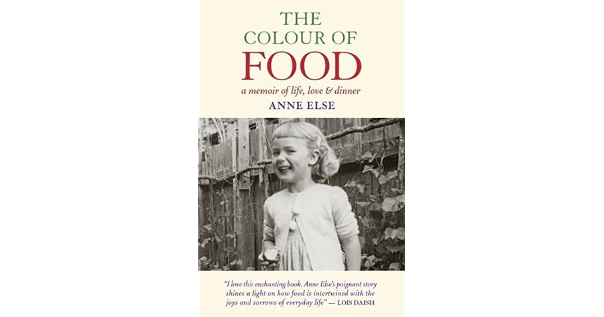the colour of food else anne