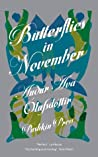 Book cover for Butterflies in November