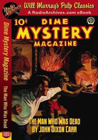 Dime Mystery Magazine The Man Who Was Dead