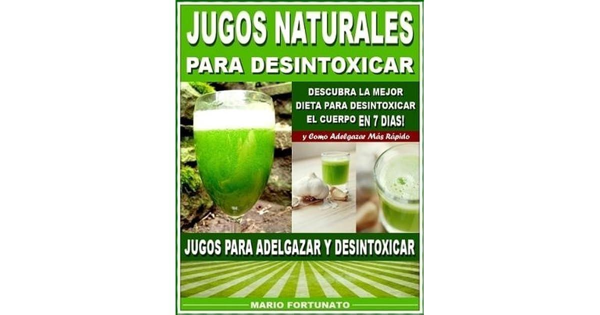 dieta de desintoxicación del cuerpo