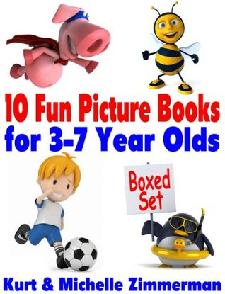 10 Fun Picture Books for 3-7 Year Olds Boxed Set