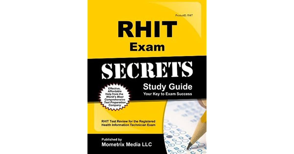 Rhit Exam Secrets Study Guide Rhit Test Review For The Registered