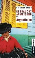 Gebrauchsanweisung für Argentinien (German Edition)