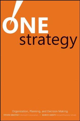 One Strategy by Steven Sinofsky