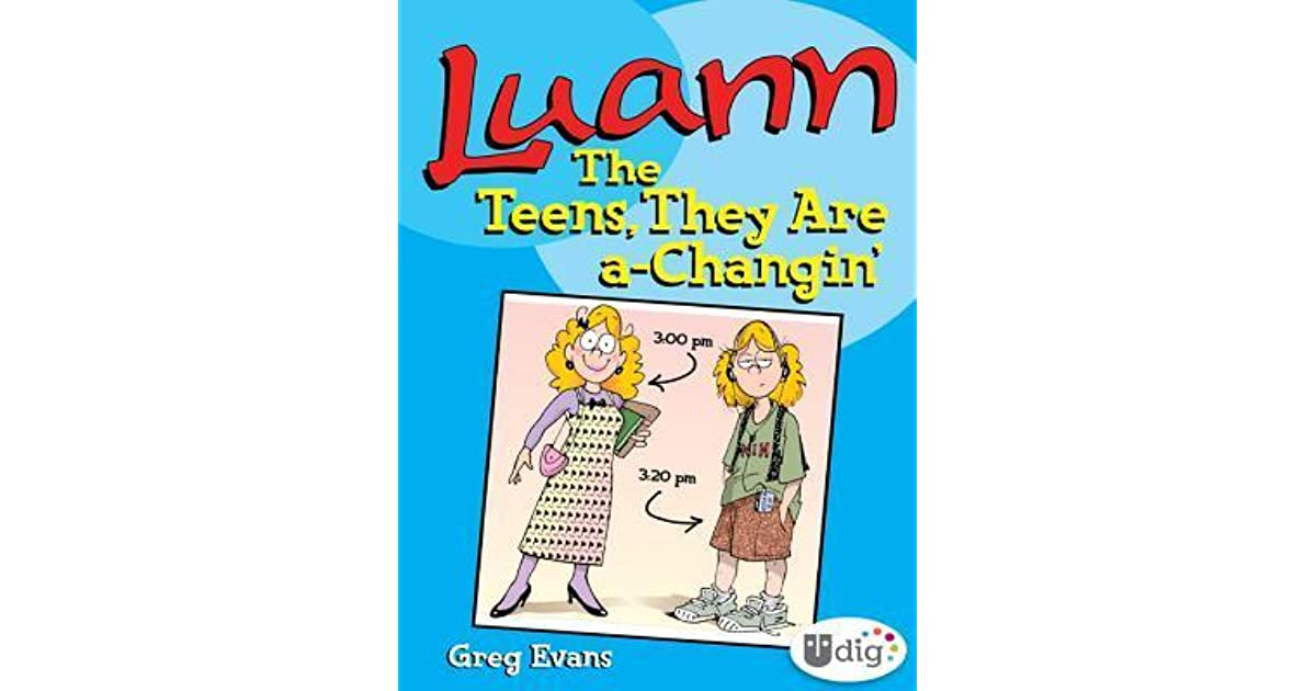 Luann: The Teens They Are a-Changin (UDig)