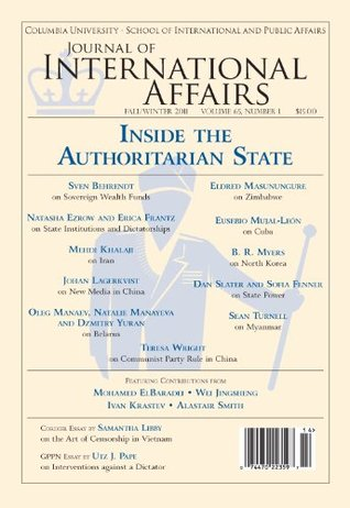 Inside the Authoritarian State (Fall/Winter 2011)