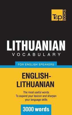 Lithuanian Vocabulary for English Speakers - 3000 Words