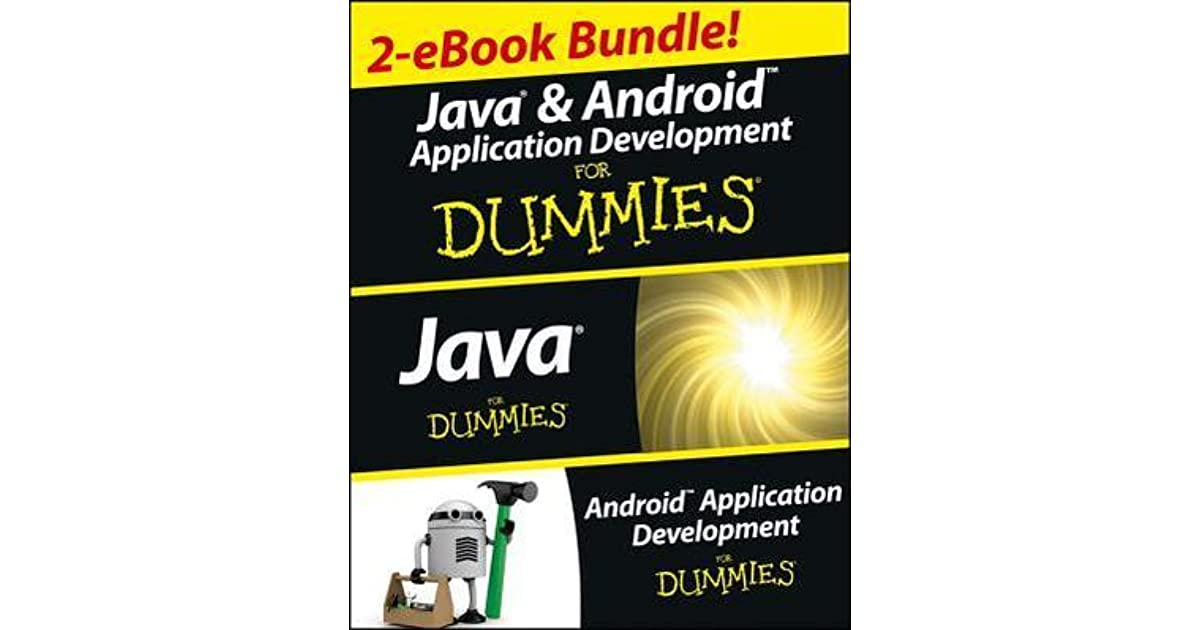 Java And Android Application Development For Dummies Ebook Set By