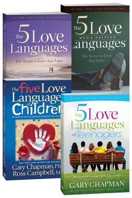 The 5 Love Languages/The 5 Love Languages Men's Edition/The 5 Love Languages of Teenagers/The 5 Love Languages of Children