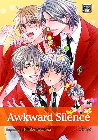 Awkward Silence, Volume 04 by Hinako Takanaga
