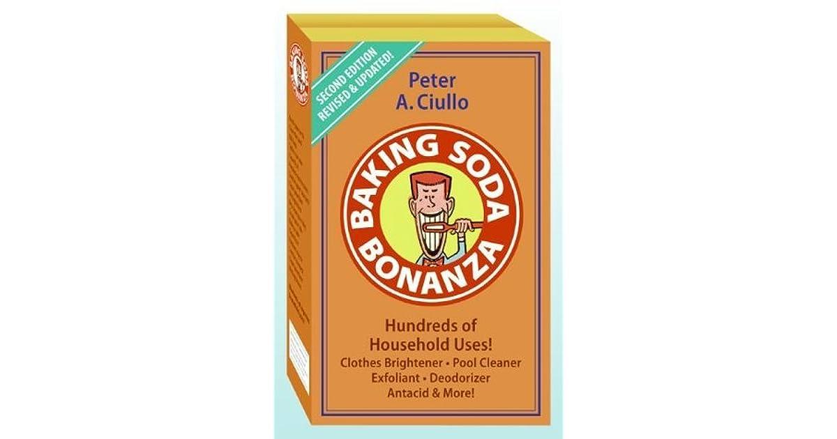 Baking Soda Bonanza By Peter A Ciullo border=