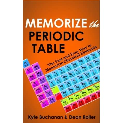 Memorize the periodic table the fast and easy way to memorize memorize the periodic table the fast and easy way to memorize chemical elements by kyle buchanan urtaz Gallery