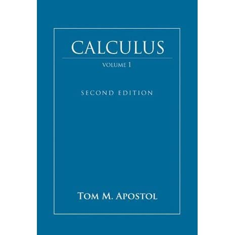 Calculus, Volume 1: One-Variable Calculus with an