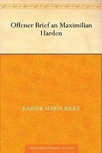Offener Brief an Maximilian Harden