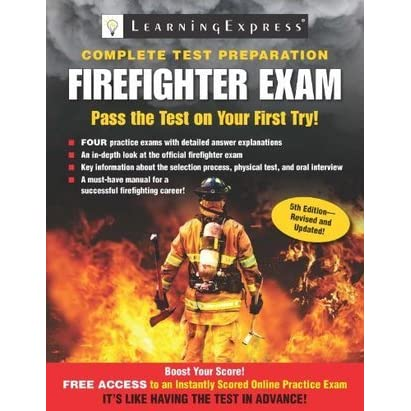 Firefighter Exam Fifth Edition Firefighter Exam By Learningexpress