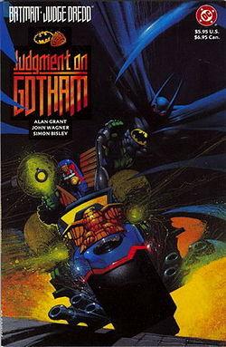 Batman/Judge Dredd by Alan Grant
