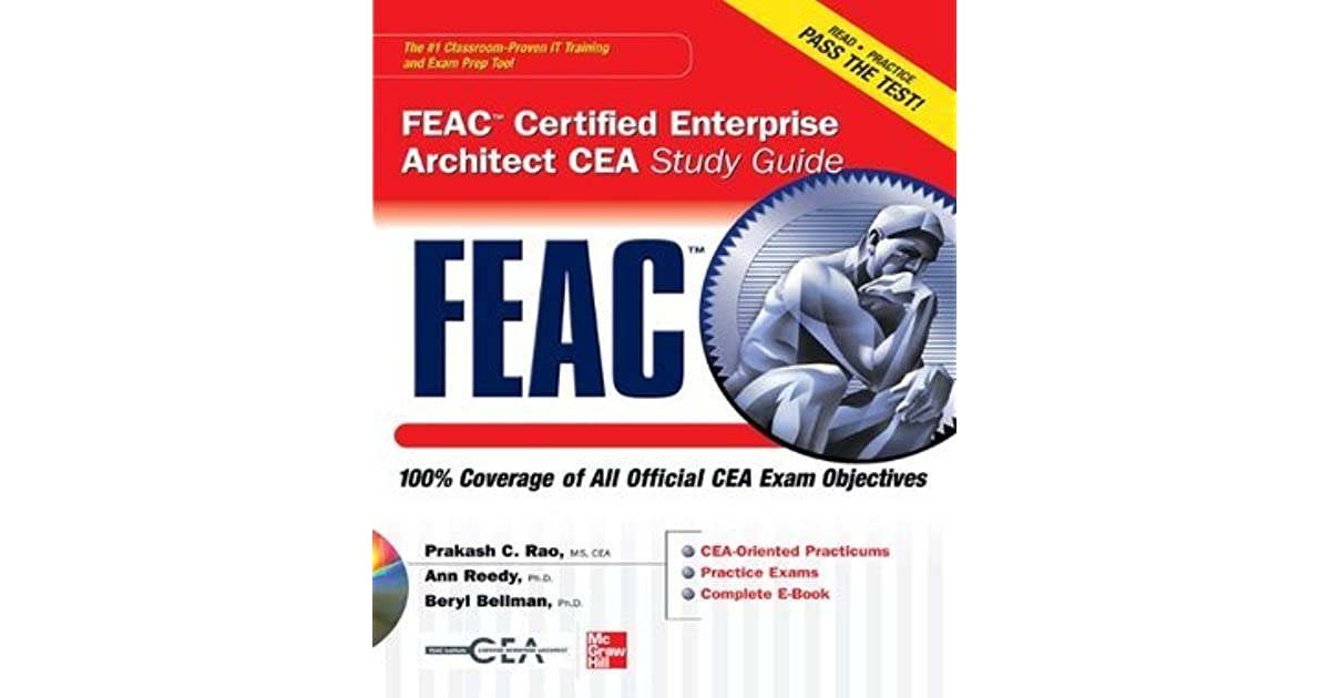 Feac Certified Enterprise Architect Cea Study Guide By Prakash Rao