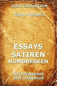 Essays, Satiren, Humoresken: Erweiterte Ausgabe