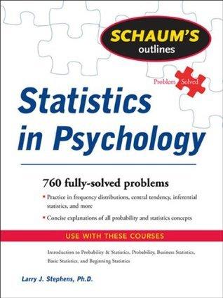 Outlines Statistics in psychology