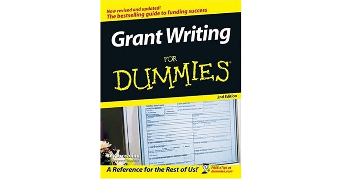 """grant writing for dummies Page 1 how to prepare a grant funding timeline excerpted from """"grant writing  for dummies."""