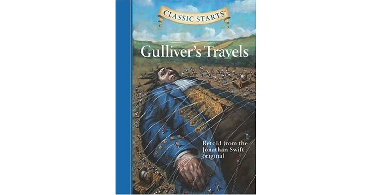 a review of the story of gullivers travels Audience reviews for gulliver's travels ½ unnecessary, preposterous, and hardly ever paying a homage to the original tale, this re-imagining of gulliver's travels is boring and stupid.
