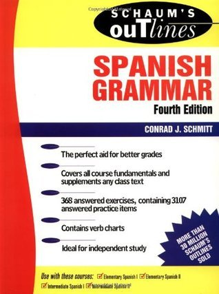 Outline of Spanish Grammar