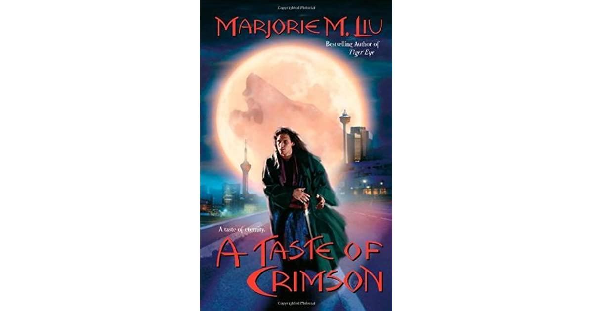 A Taste Of Crimson Crimson City 2 By Marjorie M Liu border=