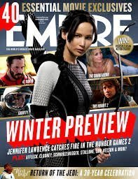 EMPIRE Magazine (November 2013) Winter Preview (Hunger Games Catching Fire) Jennifer Lawrence
