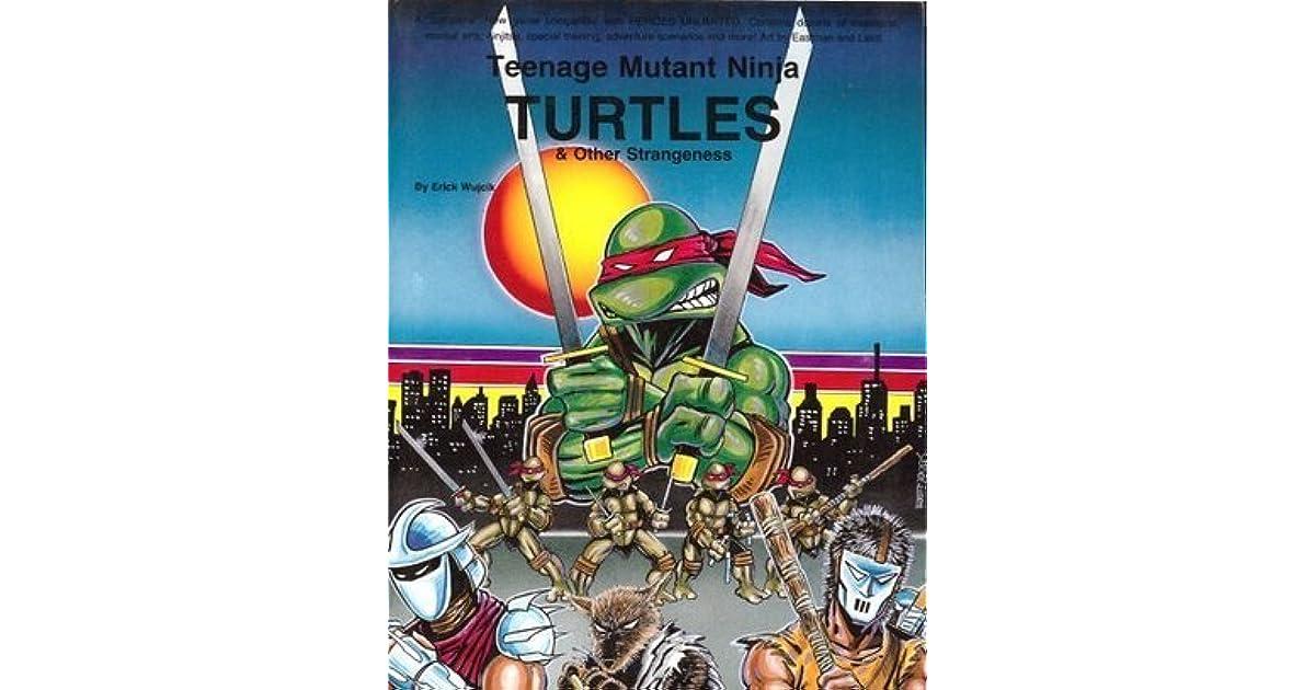 Teenage Mutant Ninja Turtles og andre Mærkværdighed By-9127