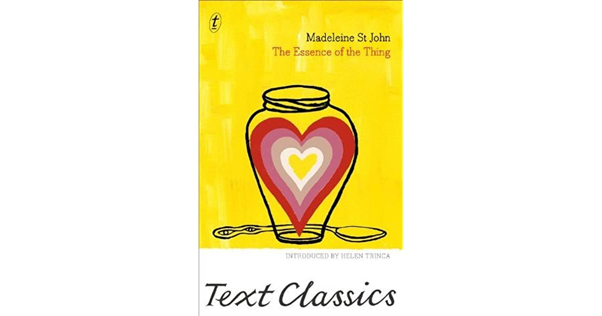 Sally906s Review Of The Essence Of The Thing Text Classics