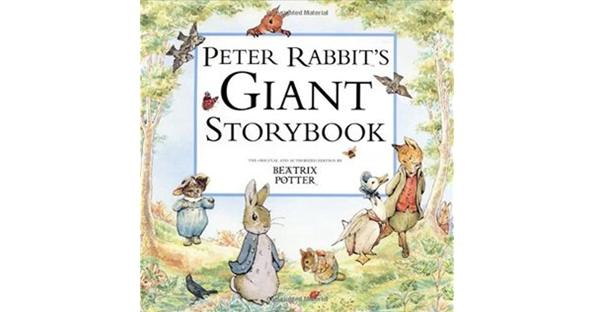 Peter Rabbit S Giant Storybook By Beatrix Potter