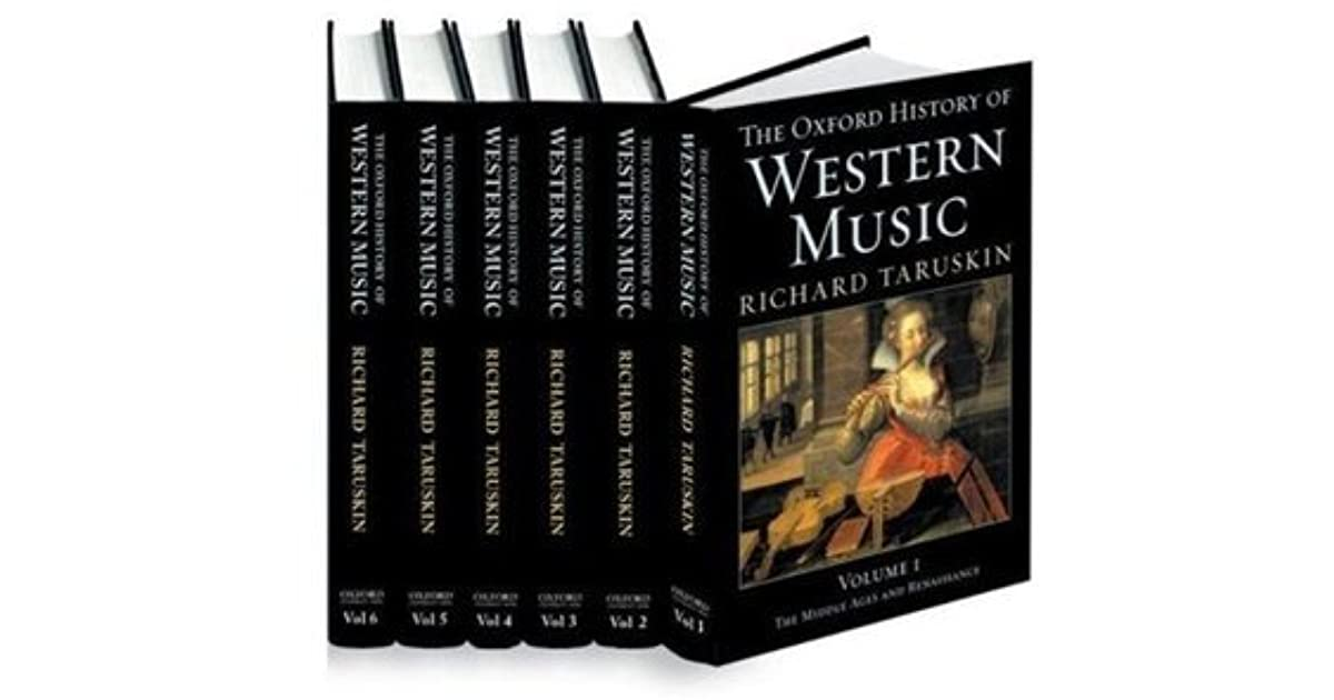 Oxford history of western music 6 volume set by richard taruskin fandeluxe Images