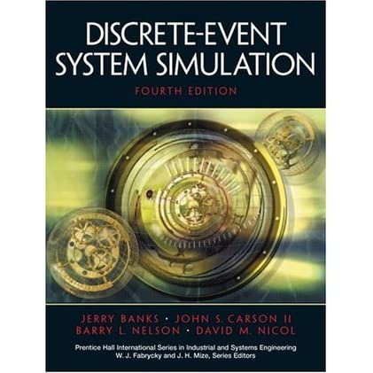 Discrete Event System Simulation By Jerry Banks