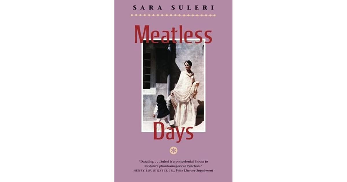 chapter wise summary of meatless days