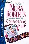 Considering Kate (The Stanislaskis, #6)