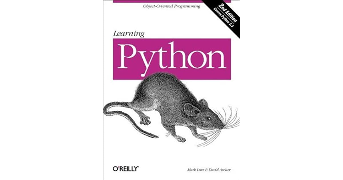 Read Learning Python By Mark Lutz