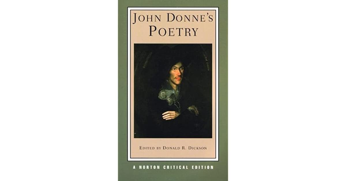 john donne poetry essays Critical essays and journal articles on the works of john donne.
