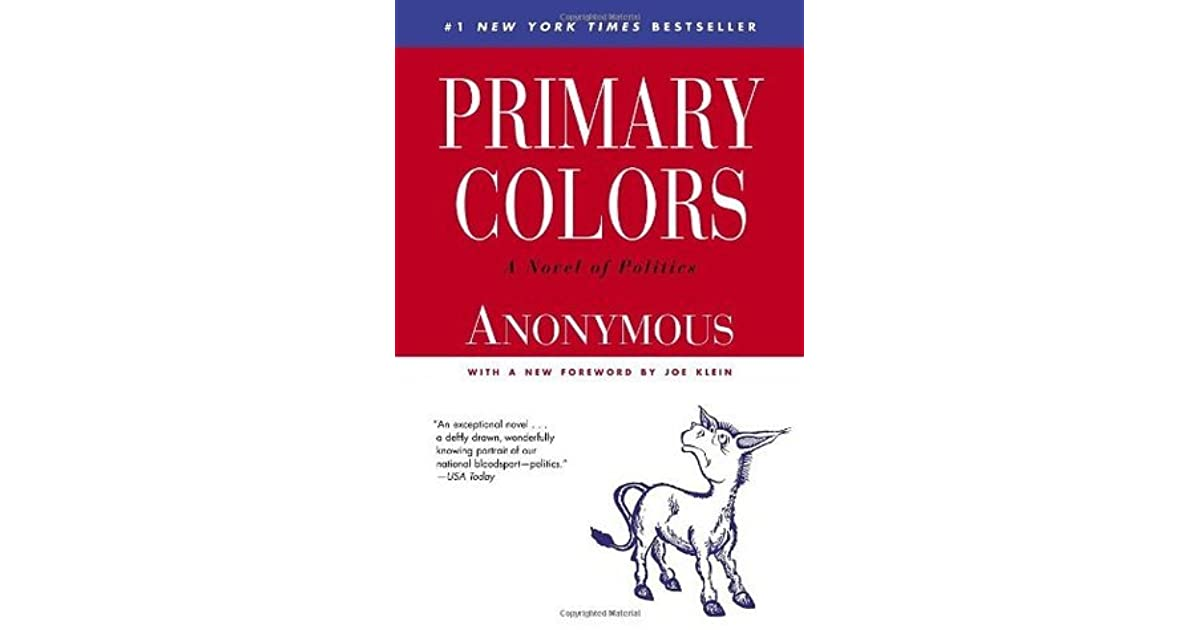 Primary Colors Book Sparknotes | Coloring Pages