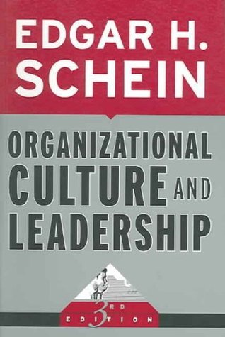 Organizational Culture and Leadership 4th ed