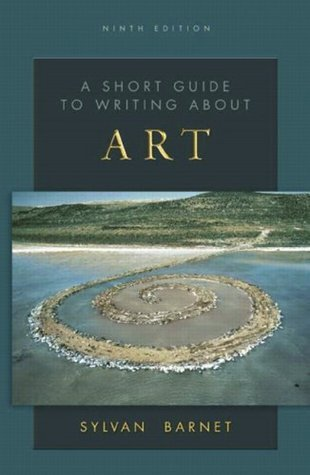 Book cover A short guide to writing about art-Pearson Education (2015)