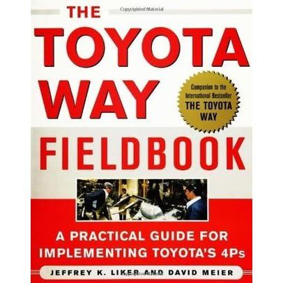 The toyota way fieldbook by jeffrey k liker fandeluxe Gallery
