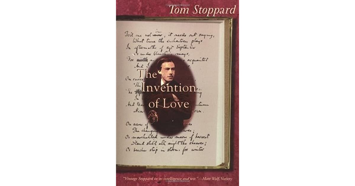 stoppards the invention of love essay The the invention of morel community note why does the author make the fugitive fall in love with anonymous the invention of morel essay questions.