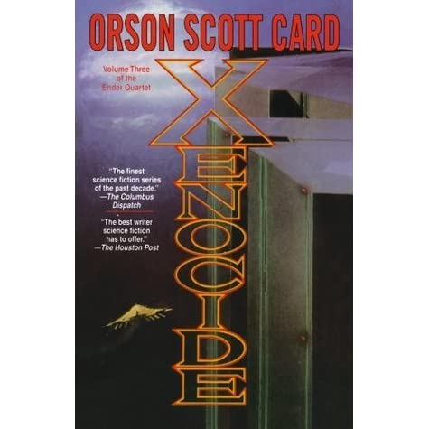 an analysis of the novel xenocide by orson scott card All about xenocide by orson scott card librarything is a cataloging and social networking site for novel (fiction), not orson scott card's xenocide is a.