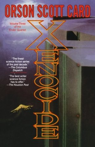 "Book cover of ""Xenocide"" by Orson Scott Card"