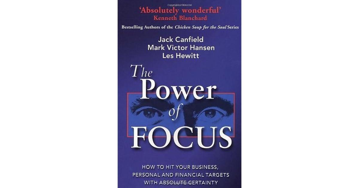 Power Of Focus Book