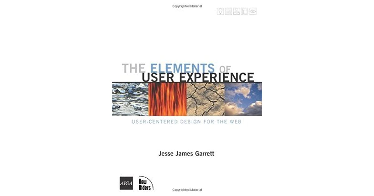 The Elements Of User Experience User Centered Design For The Web Voices By Jesse James Garrett