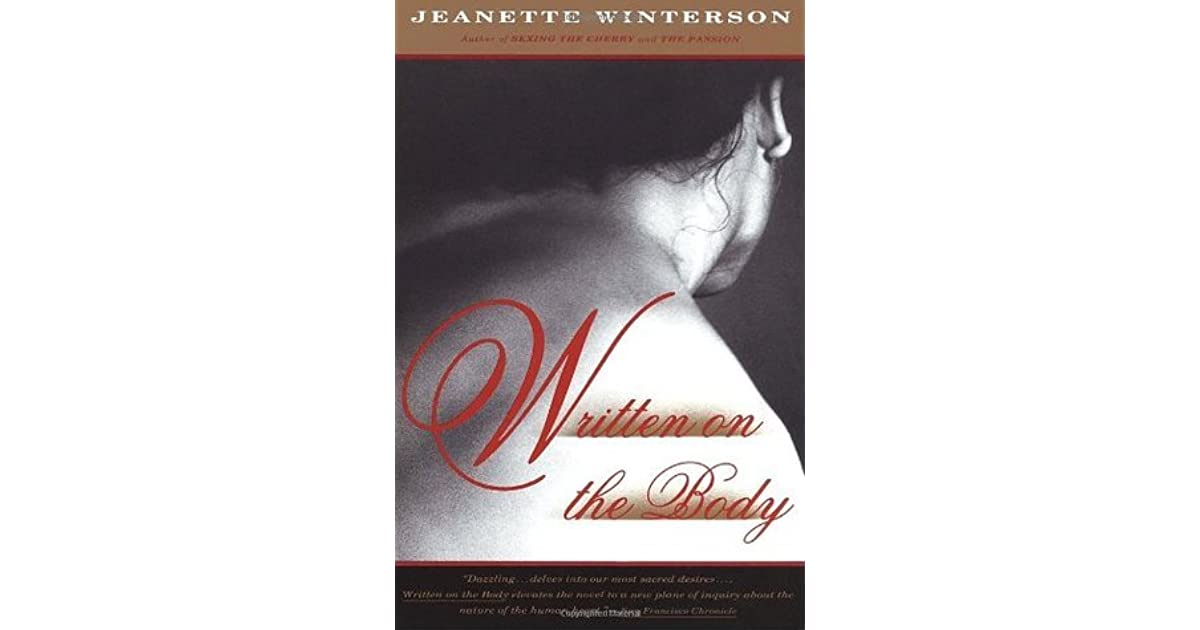 Scritto Sul Corpo Jeanette Winterson Pdf